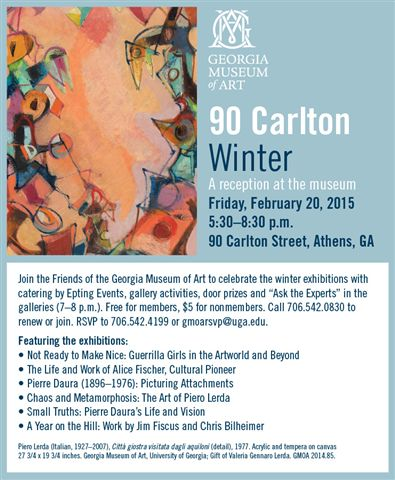 90 Carlton invitation